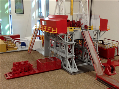 aims college model drill rig 3