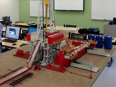 drilling rig model aims college 25