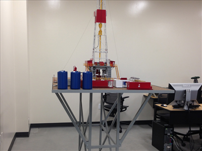 model drill rig aims college 27